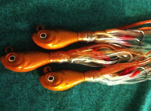 CopperKiller Rattling ling cod jigs get a single or 3 pack! and start slaying the lingcod!