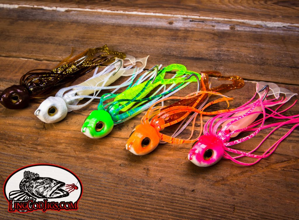 Our new DragonSlayer jigs have been slaying big Lingcod up and down the west coast this season.. This jig is hot!!!