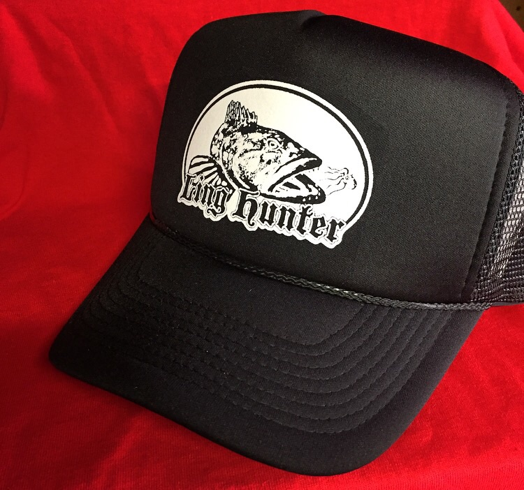 Ling hunter trucker style lingcod fishing hat