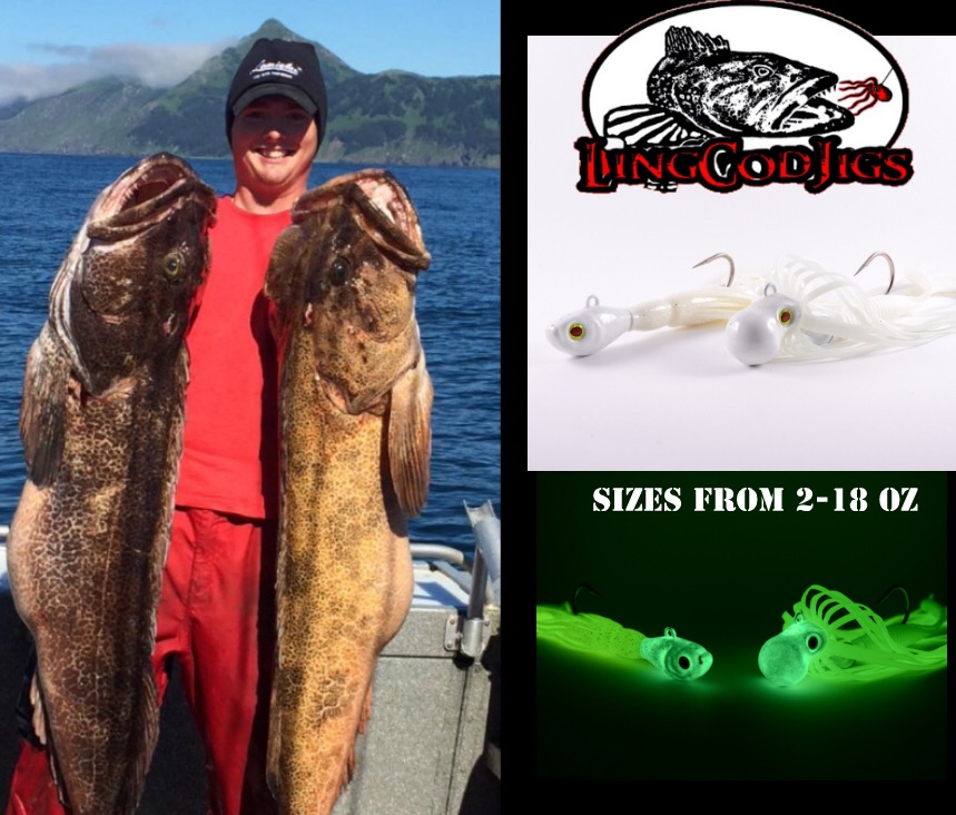 Lingcod fishing with jigs is one of the most fun and productive ways to catch Lingcod